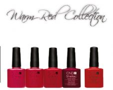 CND Shellac -  WARM RED COLLECTION